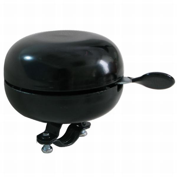 Bel Ding Dong 80 mm zwart