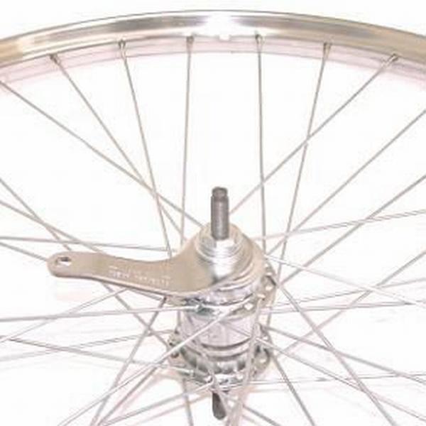 Achter wiel 28x 1 1/2 staal Velosteel
