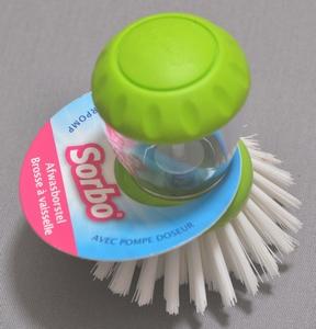 Afwasborstel met doseerpomp SORBO