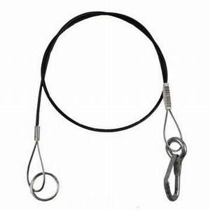Breekkabel + ring rood 1 mtr
