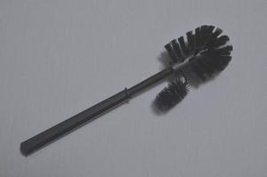 Closetborstel met randreiniger Universeel kunststof zwart