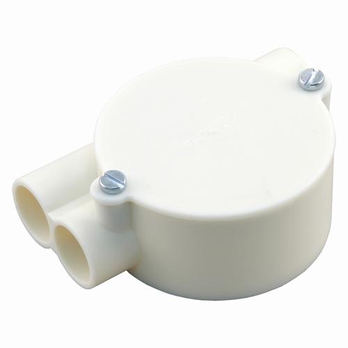 Attema lasdoos top-trekdoos, 2 x links Ø5/8 crème per stuk