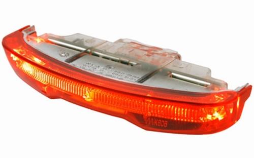 Achterlicht Gazelle Slim Vision batterij