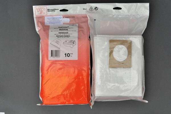 Dustcraft Micovezel 10 stuks + 1 filter