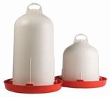 Ophang-bajonetdrinker kunststof  met onderbak, 3 ltr.