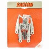Saccon v-br set voor + achter Alu per stel