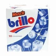 Brillo Muscle schuursponjes 10 stuks