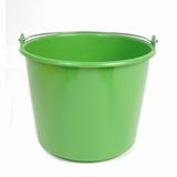 Emmer kunststof Prof, groen 12L.