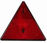 Reflector driehoek rood p. stuk