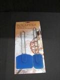 Pannenlikker RVS met soliconen  2 stuks