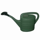 Gieter kunststof groen, met broes, 13L.