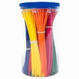 Kabelbandje -MM- assortiment 9 kleuren x50 stuks