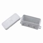 Kabeldoos met doorsteektules spatwaterdicht (IP54) grijs