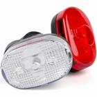 IKZI koplamp Retro zwart + reflector achterlicht